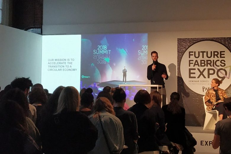 Future Fabrics Expo 2020 Seminar on Circular Fashion, attended by SupplyCompass