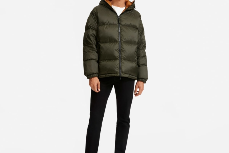 Everlane Puffer Jacket filled with Re:Down