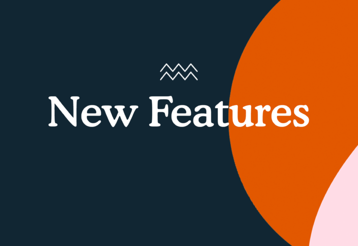 We've just launched some snazzy new features
