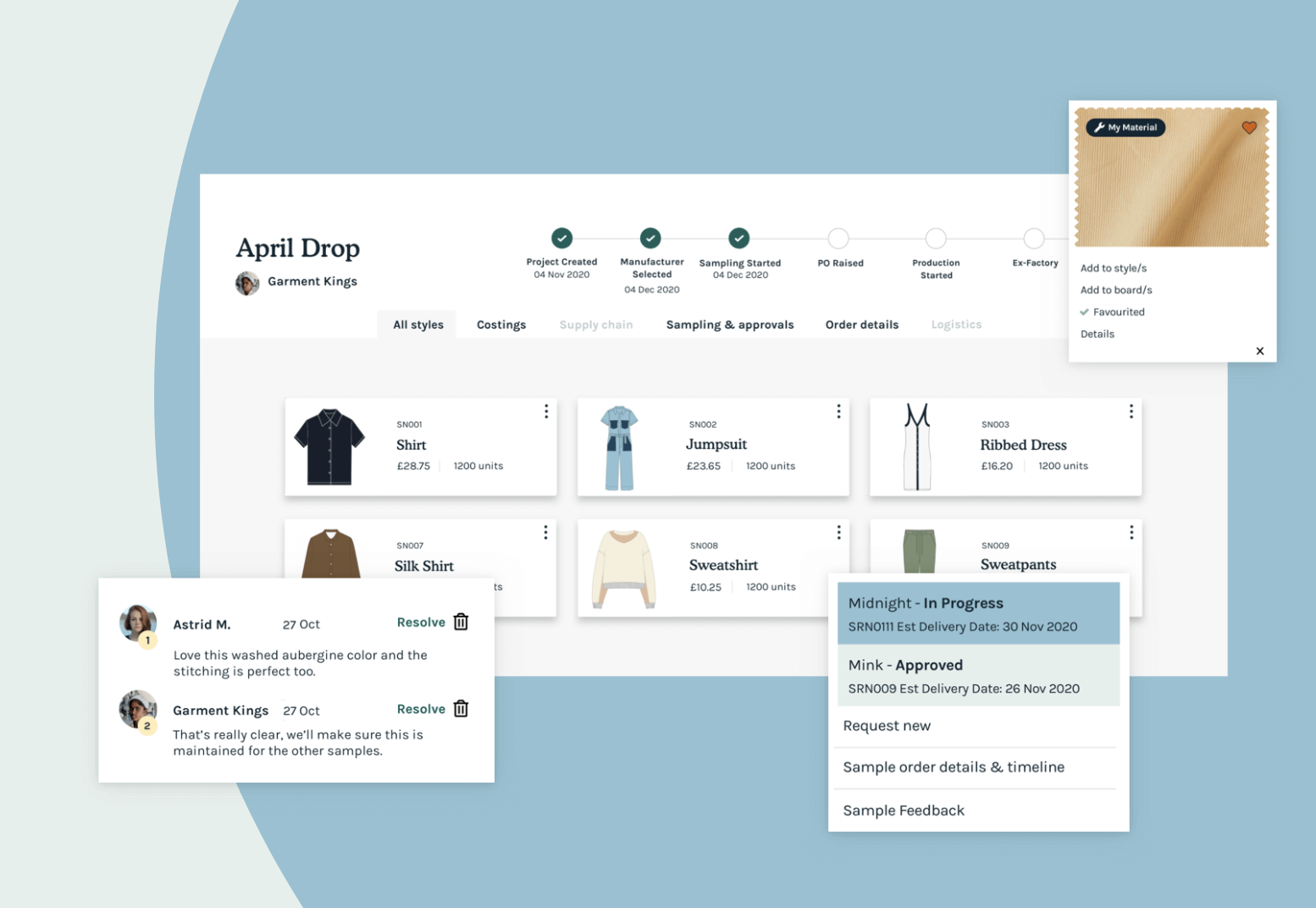 SupplyCompass PLM Software for the Fashion Industry